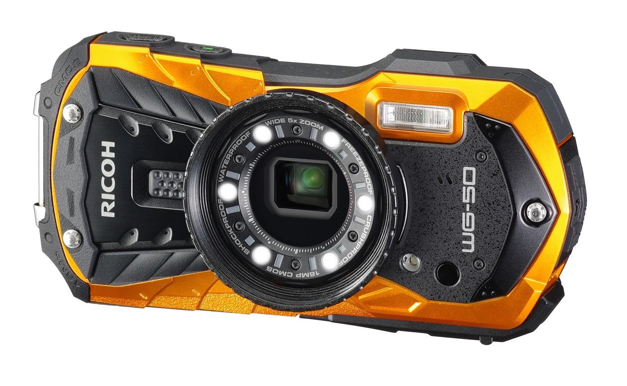 Ricoh-Pentax WG-50 oranžový