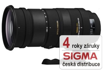 Sigma 50-500 mm F 4,5-6,3 APO DG OS HSM pro Pentax