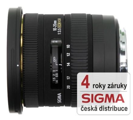 Sigma 10-20 mm F 3,5 EX DC HSM pro Pentax