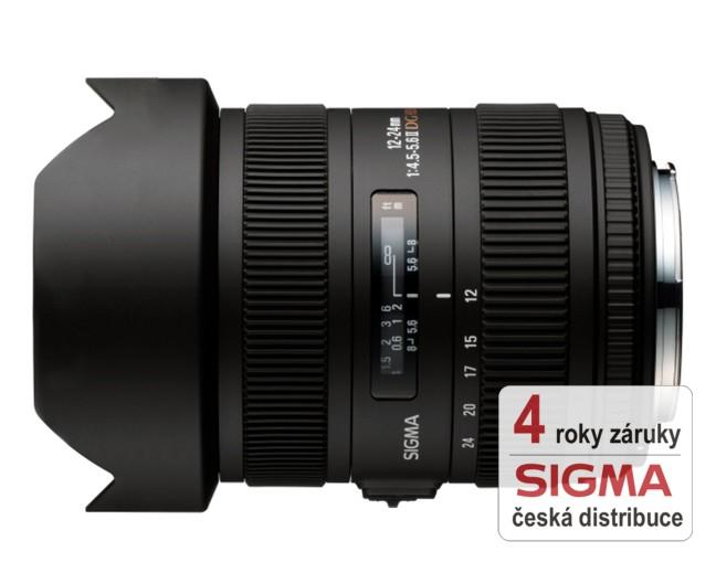 Sigma 12-24 mm F 4,5-5,6 DG HSM II pro Nikon