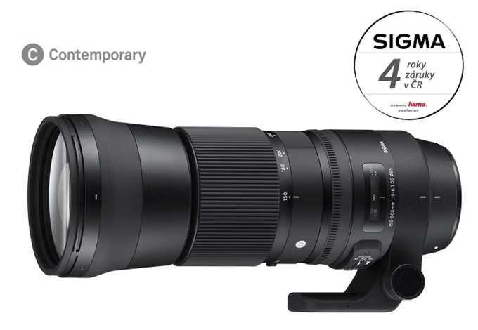 SIGMA 150-600/5-6.3 DG OS HSM Contemporary Nikon, Bonus 2.000 Kč ihned odečteme