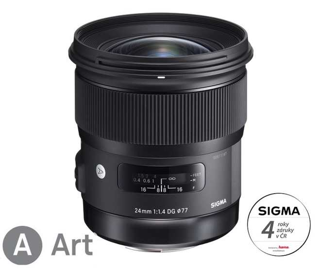 SIGMA 24/1,4 DG HSM ART Nikon