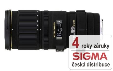 Sigma 70-200 mm F 2,8 APO EX DG OS HSM pro Sony