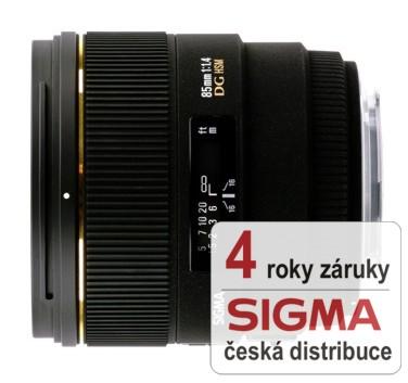 Sigma 85 mm F 1,4 EX DG HSM pro Canon