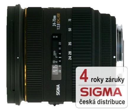 Sigma 24-70 mm F 2,8 IF EX DG HSM pro Canon