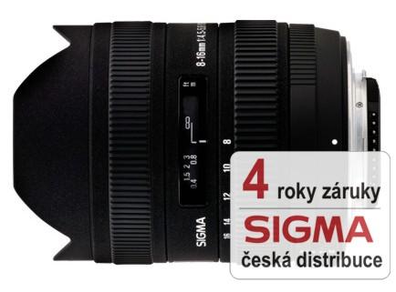 Sigma 8-16 mm F 4,5-5,6 DC HSM pro Canon