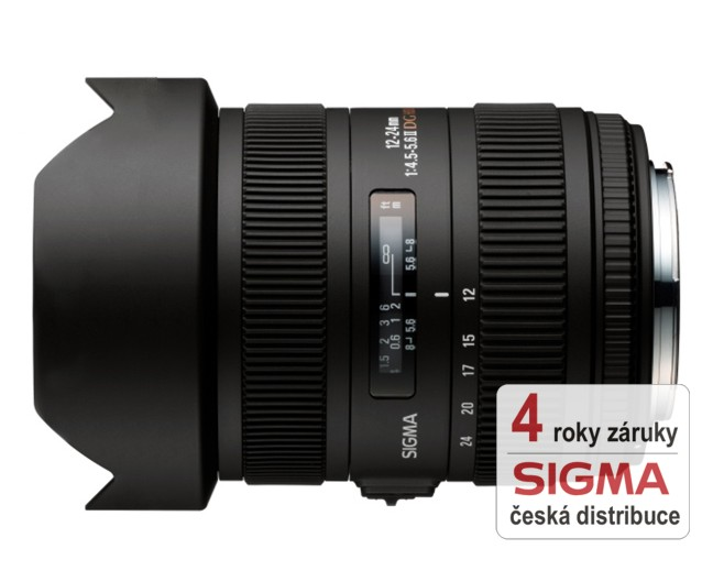 Sigma 12-24 mm F 4,5-5,6 DG HSM II pro Canon