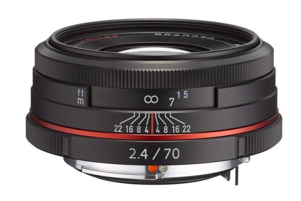 Pentax HD DA 70 mm F 2,4 AL Limited černý