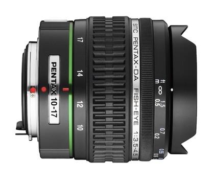 Pentax smc DA 10-17 mm F 3,5-4,5 ED (IF) rybí oko