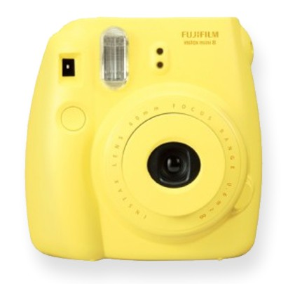 Fujifilm Instax Mini 8 Instant Camera yellow