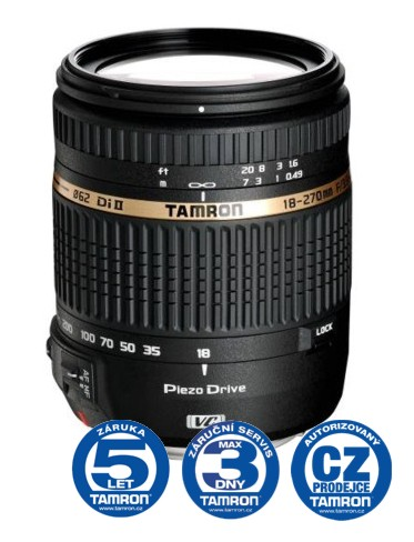 Tamron AF 18-270mm F 3,5-6,3 Di-II PZD pro Sony, CashBack 600 Kč + brašna Tamron
