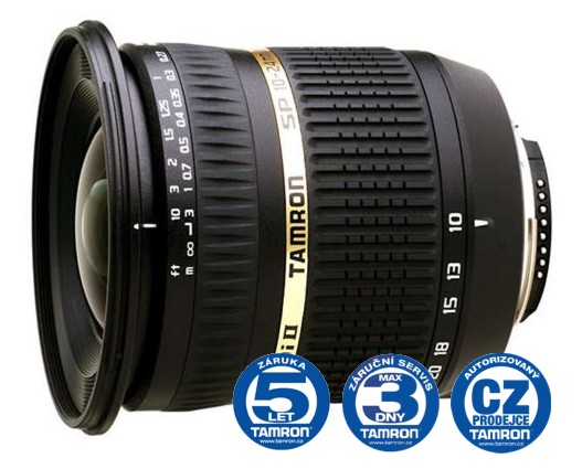 Tamron SP AF 10-24 mm F 3,5-4,5 Di-II LD Asp. (IF) pro Nikon