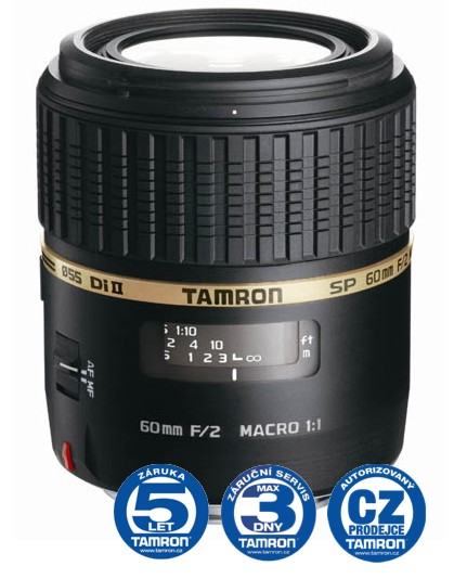 Tamron SP AF 60 mm F 2,0 Di-II LD (IF) Macro 1:1 pro Canon