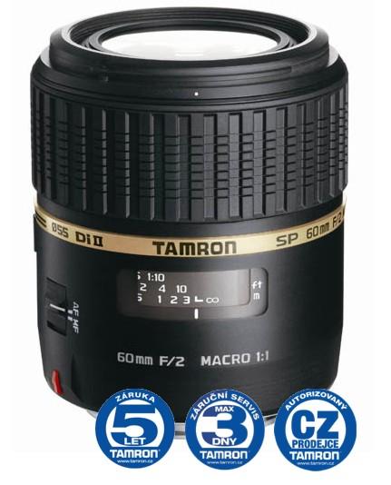 Tamron SP AF 60 mm F 2,0 Di-II LD (IF) Macro 1:1 pro Nikon