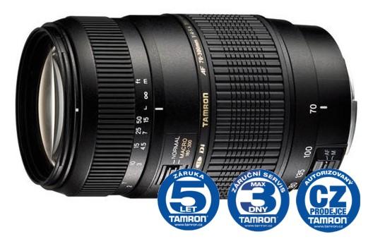 Tamron AF 70-300 F/4-5,6 Di LD Macro 1:2 pro Canon