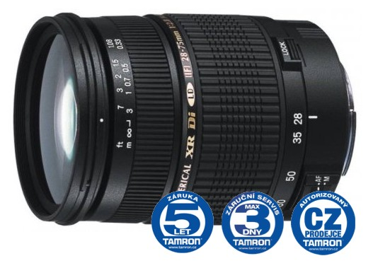 Tamron AF SP 28-75 mm F 2,8 Di XR LD Asp. (IF) MACRO pro Canon