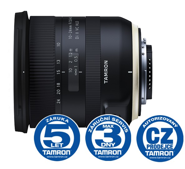 Tamron SP 10-24mm F/3.5-4.5 Di II VC HLD pro Nikon (model B023)