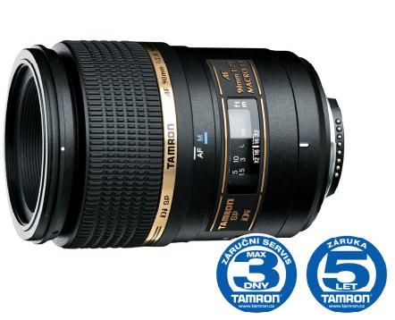 Tamron SP 90 mm F 2,8 Di Macro 1:1 pro Sony, Bonus 500 Kč ihned odečteme