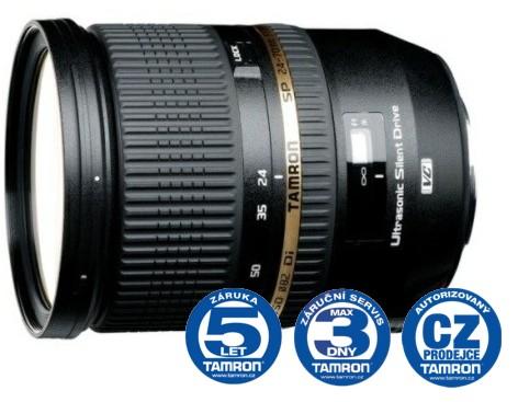 Tamron SP 24-70 mm F 2,8 Di VC USD pro Canon, CashBack 1500 Kč