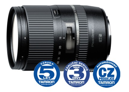 Tamron AF 16-300 mm F 3,5-6,3 Di-II VC PZD pro Nikon, CashBack 800 Kč + brašna Tamron