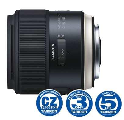 Tamron SP 35mm F/1.8 Di VC USD pro Nikon, Bonus 1.000 Kč ihned odečteme