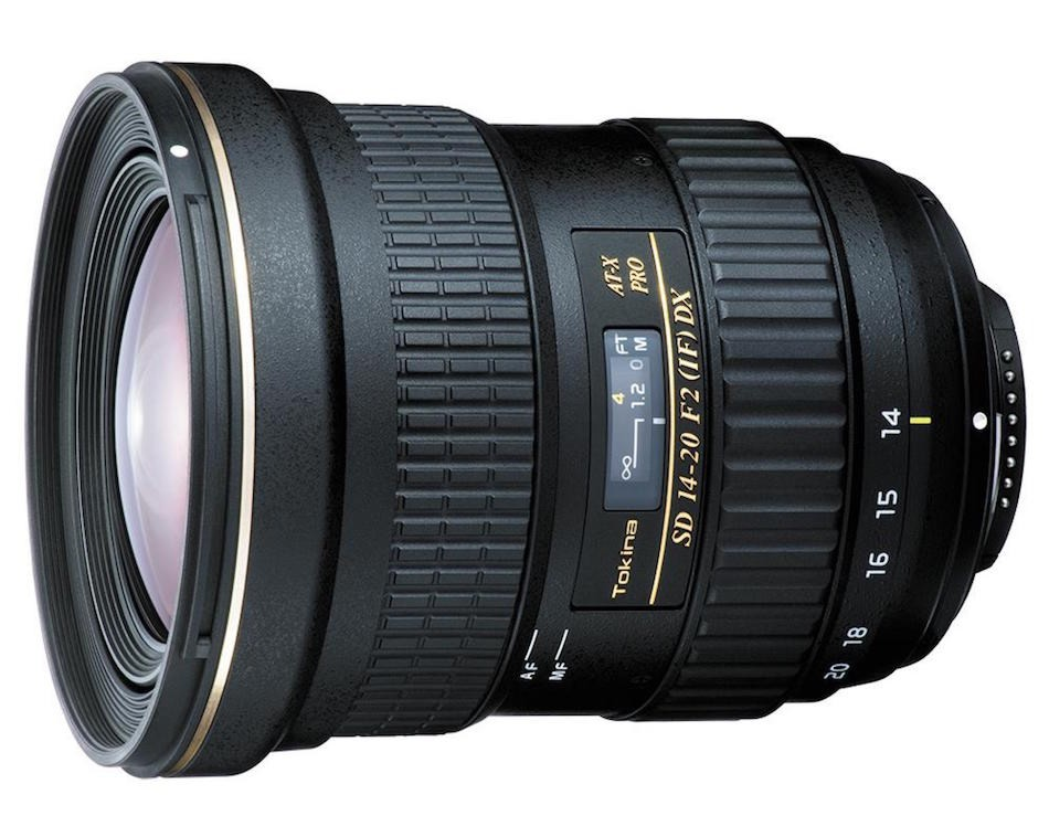 Tokina AT-X 14-20 mm f/2 PRO DX pro Canon