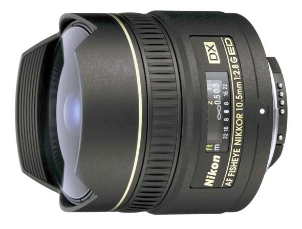 Nikon 10,5 mm F 2,8G AF ED DX rybí oko
