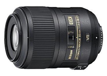 Nikon 85 mm F 3,5G ED VR AF-S DX MICRO, CashBack 800 Kč