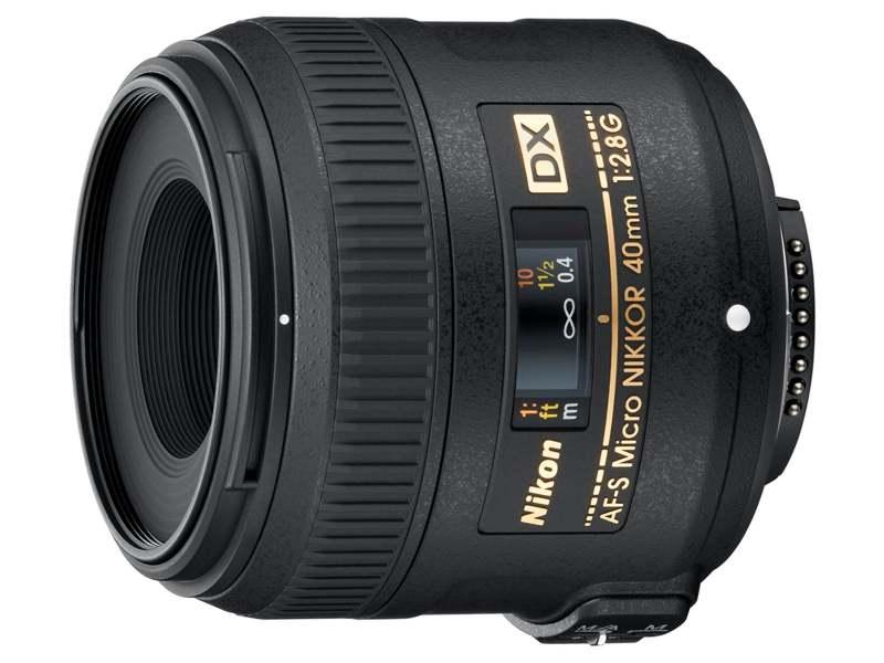 Nikon 40 mm F 2,8G AF-S MICRO