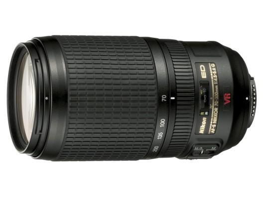 Nikon 70-300 mm F 4,5-5,6G IF-ED AF-S VR, CashBack 1350 Kč