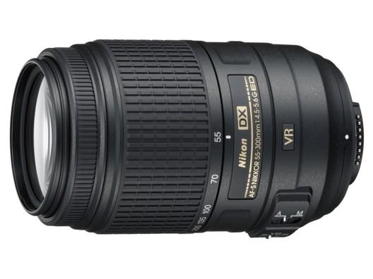 Nikon 55-300 mm F 4,5-5,6G ED AF-S VR DX