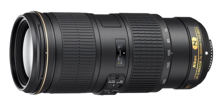 Nikon 70-200 mm F 4G ED AF-S VR, Bonus 3000 Kč ihned odečteme