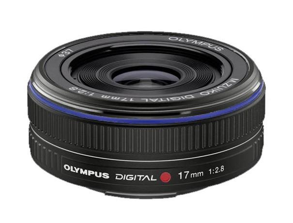 Olympus M.ZUIKO DIGITAL 17mm 1:2.8 Pancake černý