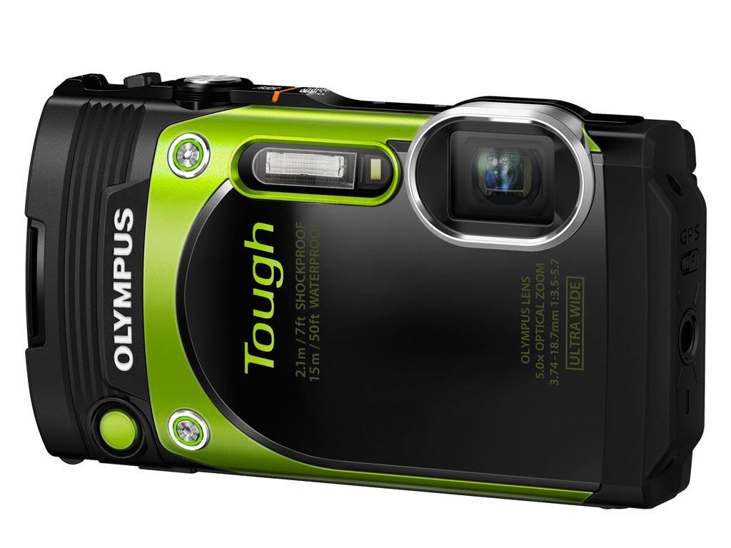 Olympus TG-870 zelený