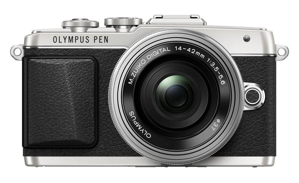 Olympus E-PL7 + 14-42 EZ Pancake stříbrný + 16GB SDHC karta 48MB/s ZDARMA