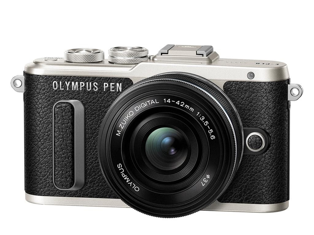 Olympus PEN E-PL8 + 14-42 mm EZ černý