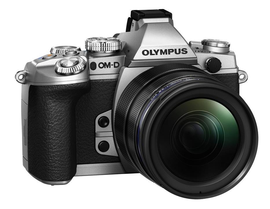Olympus OM-D E-M1 + 12-50 stříbrný