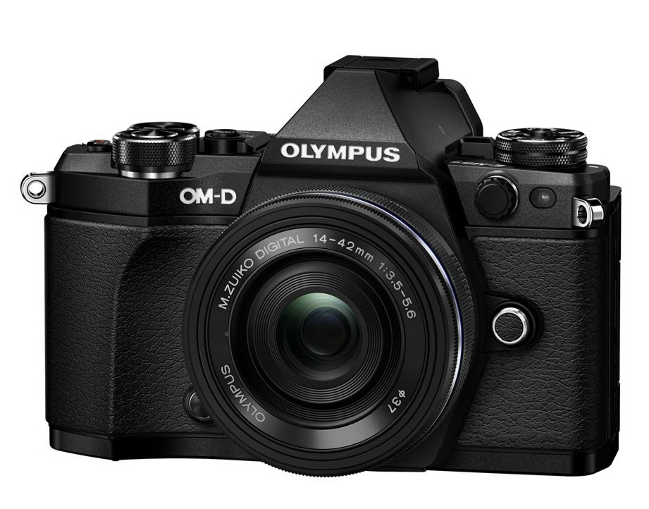 Olympus OM-D E-M5 II + 14-42 mm EZ black + SDHC 32GB