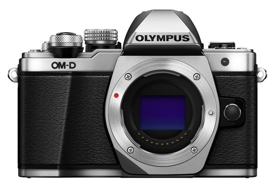 Olympus OM-D E-M10 mark II tělo stříbrné + SDHC 16GB, CashBack 2000 Kč