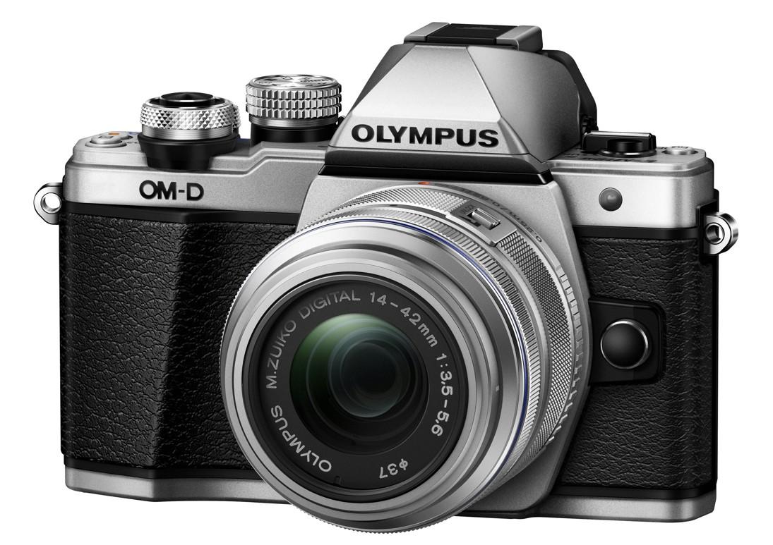 Olympus OM-D E-M10 Mark II Kit 14-42 stříbrný + SDHC 16GB, CashBack 2000 Kč