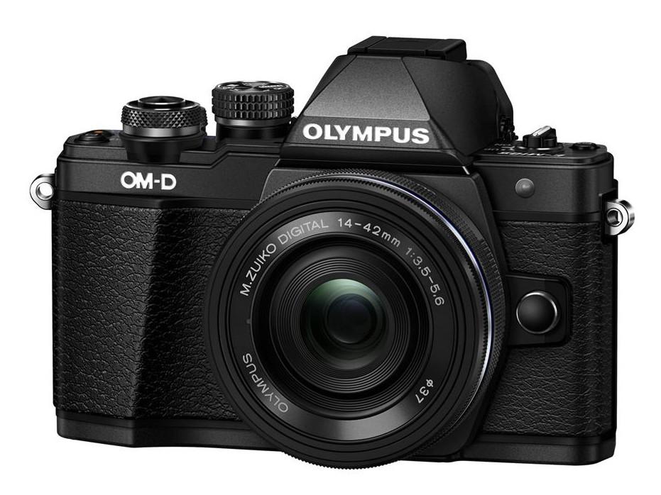Olympus OM-D E-M10 mark II + 14-42 mm EZ černý + Karta SDHC 16GB