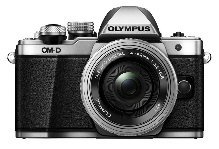 Olympus OM-D E-M10 mark II + 14-42 mm EZ stříbrný + SDHC 16GB, CashBack 2000 Kč