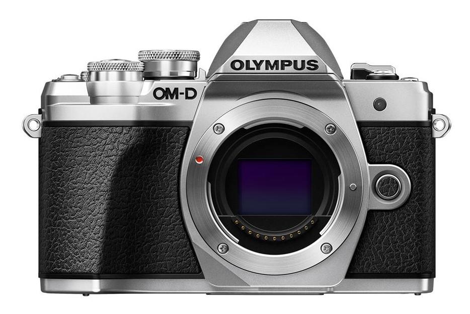 Olympus OM-D E-M10 mark III tělo stříbrné