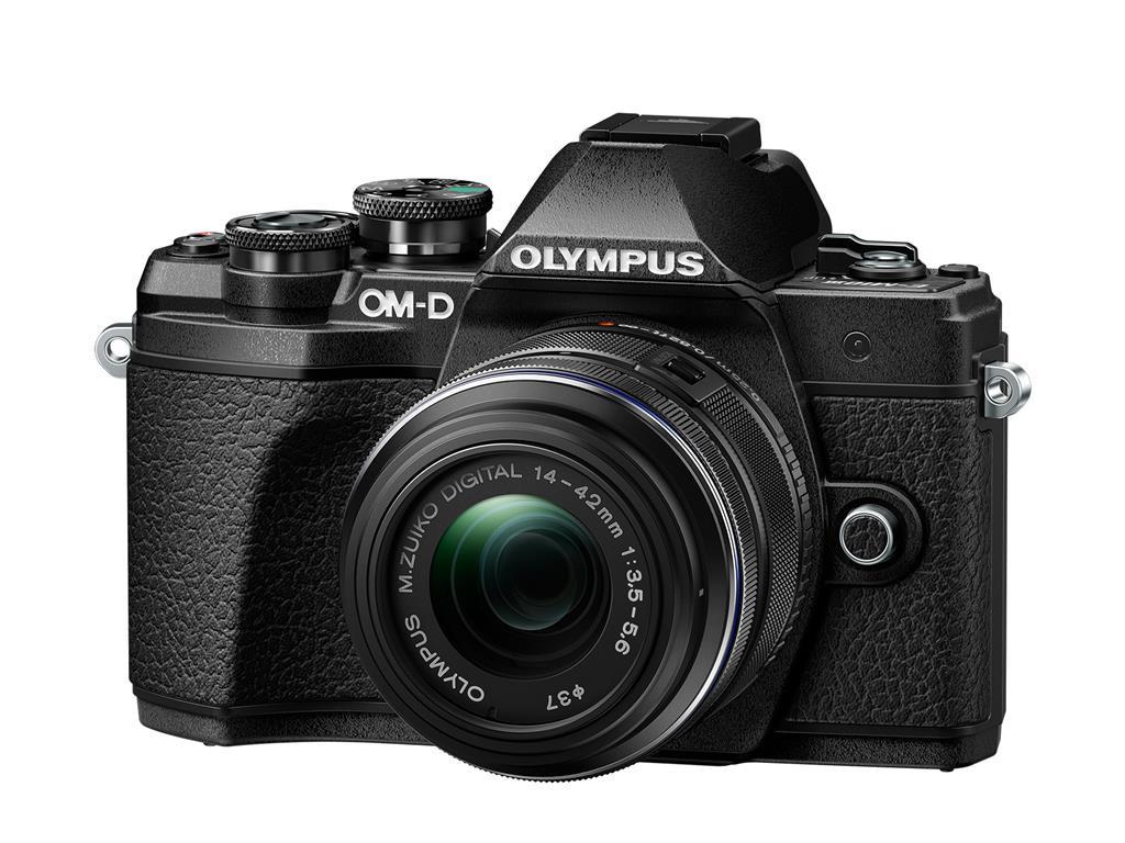 Olympus OM-D E-M10 mark III + 14-42 černý