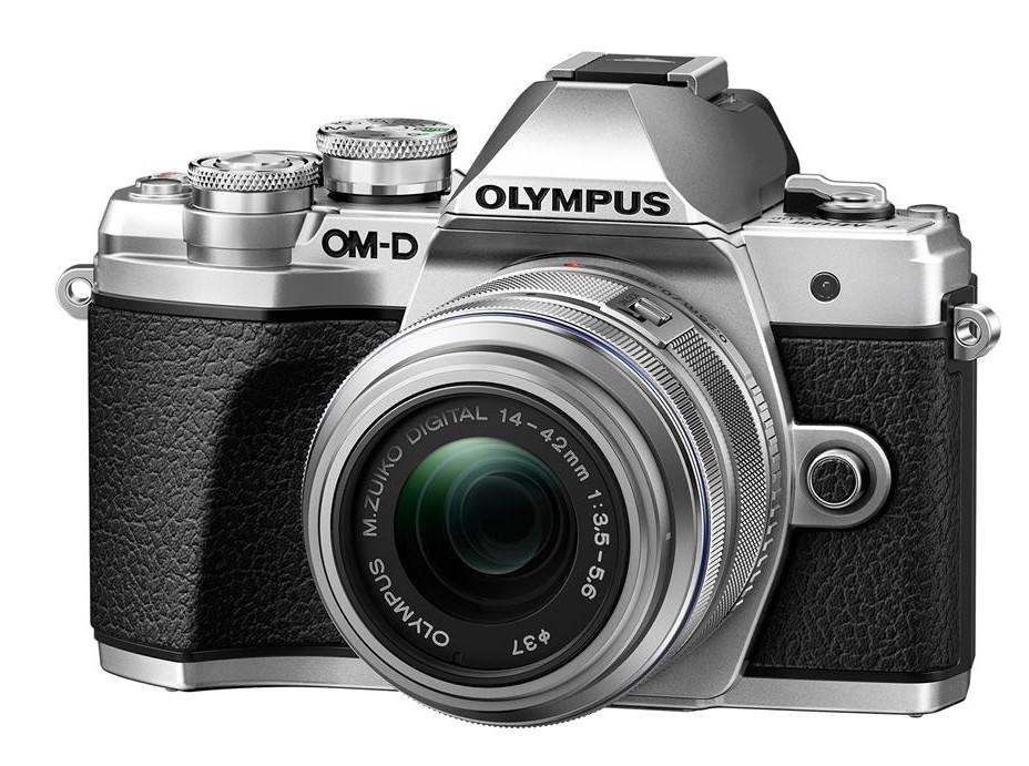 Olympus OM-D E-M10 mark III + 14-42 stříbrný