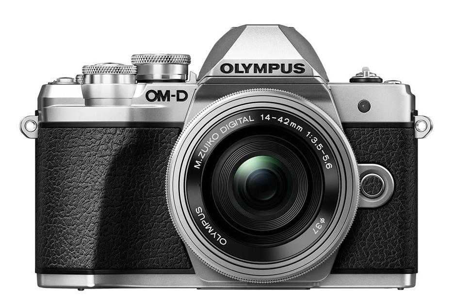 Olympus OM-D E-M10 mark III + 14-42 EZ stříbrný
