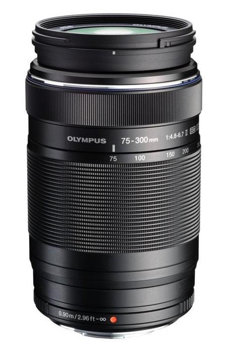 Olympus M.ZUIKO DIGITAL ED 75-300mm 1:4.8-6.7 II černý