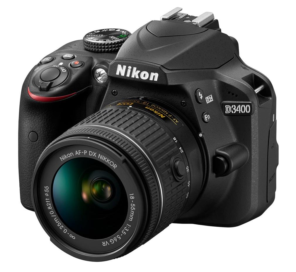 Nikon D3400 + 18-55 AF-P VR černý