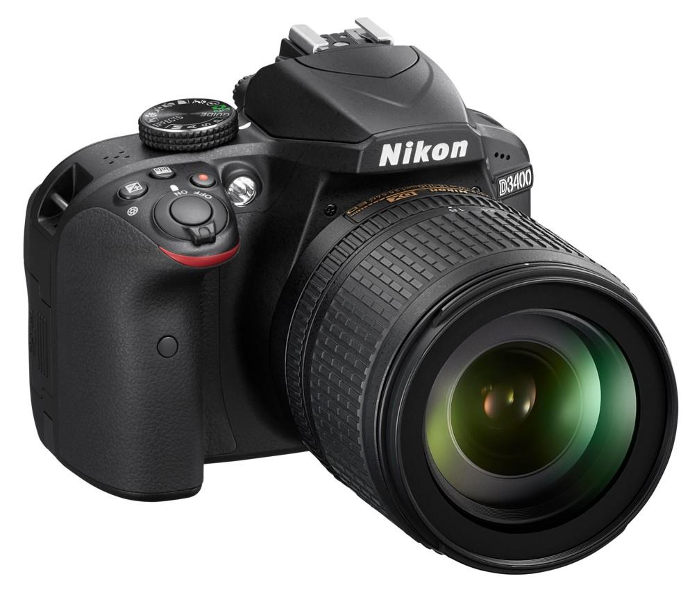 Nikon D3400 + 18-105 AF-S VR černý