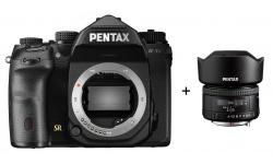 Pentax K-1 Mark II + FF Objektiv Pentax HD FA 35/2 a karta 32GB